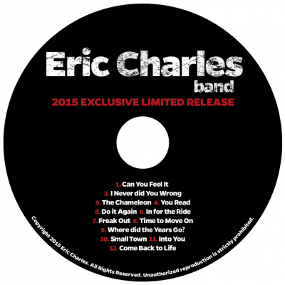 Eric Charles Band Exclusive CD