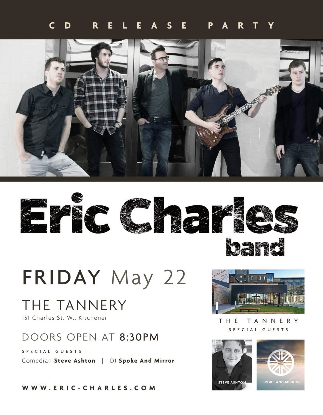 Eric Charles Band CD Release Party