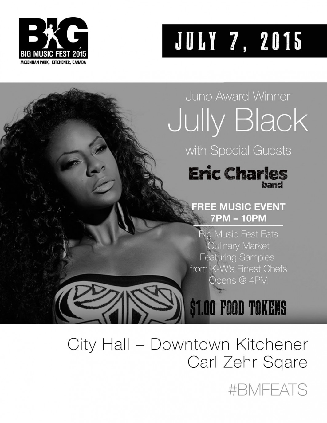 Eric Charles Band Live in Downtown Kitchener
